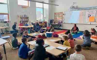 Notes From The Field – Mindful Body 3rd Grade Lesson
