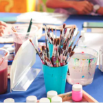 arts and crafts activities reduce stress when kids can't do normal activities