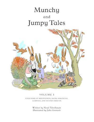 Picture SEL and Mindfulness book - Munchy and Jumpy