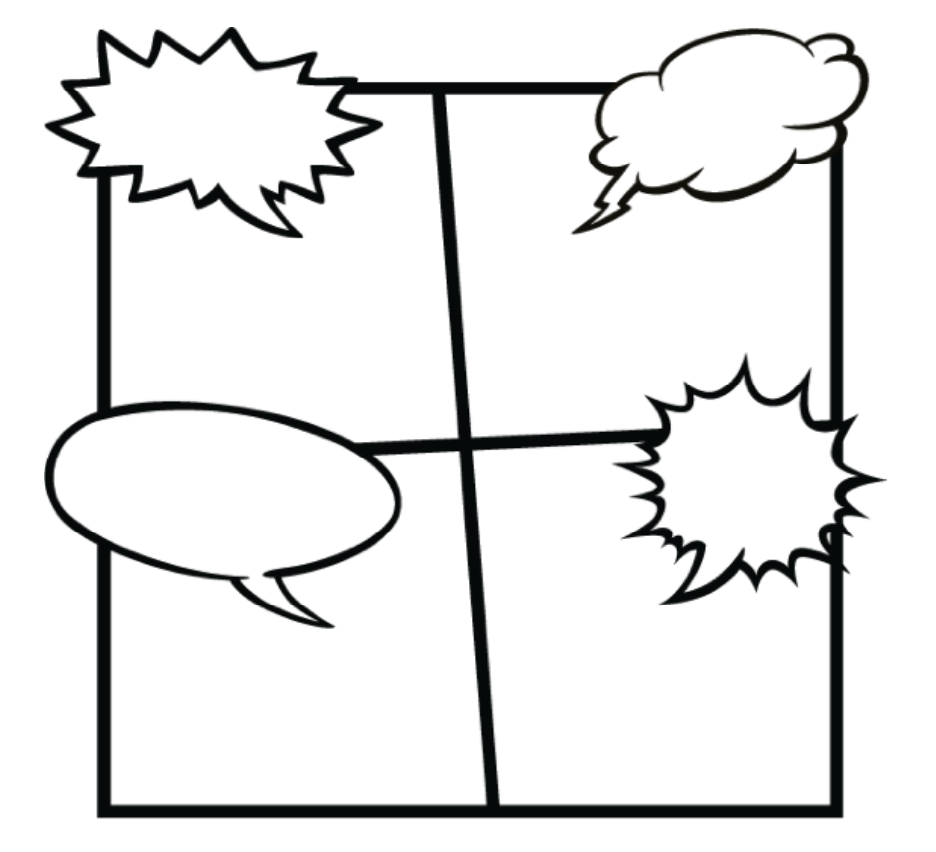Use this comic graphic to teach positive affirmations to kindergarteners
