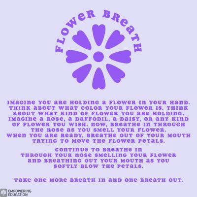 flower breath meditation for kids
