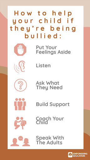 how to help your child if theyre being bullied