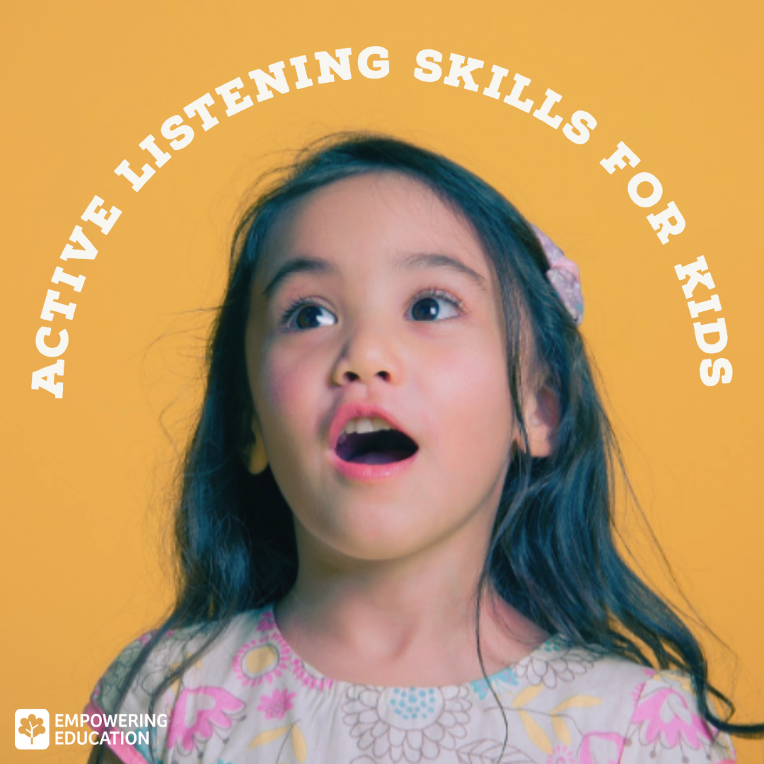 active listening for kids