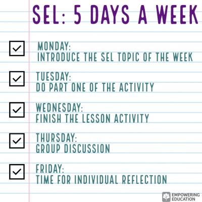 sel 5 days a week