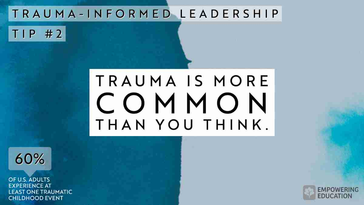Trauma is more common than you think